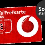 Vodafone Prepaid SIM Karte mit Guthaben für unter 10 Euro