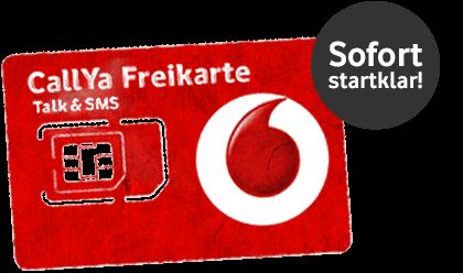 Callya Karte.Vodafone Prepaid Sim Karte Mit Guthaben Für Unter 10 Euro